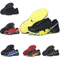 Wholesale new styles shoes for men for sale - Group buy Salomon SPEED CROSS IV New Sport style Mens Designer Sports Running Shoes for Men Sneakers Casual Trainers hiking shoes