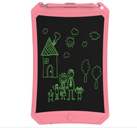 Wholesale kids magnetic drawing board resale online - 8 inch LCD Writing Tablet Drawing Magnetic Board Handwriting Pads Gift for Kids Paperless Notepad Tablets Memo With Upgraded Pen