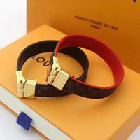 ingrosso braccialetto di cuoio del cuoio dell'involucro-Moda marchio in pelle Beacelets Per donne Wrap Cuff Slake Bracciali in pelle Con fibbia in lega Coppia gioielli natura no scatola jmi8a