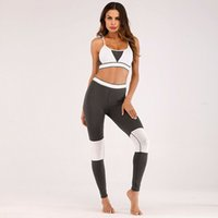 gespleißte strumpfhosen großhandel-Set Hot Yoga Spleißen deutlich dünner und fester elastische Yoga-Kleidung Sportanzug