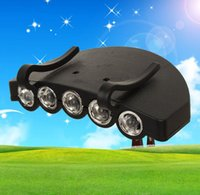 Wholesale cycling clips for sale - Group buy Mini led cap flashlight lights outdoor hunting cycling headlamps clip head lights for hat Brim lamp outdoor travel camping torch lamps