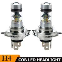 h4 hb2 al por mayor-2x coche H4 9003 HB2 100W 8000K Hi / Lo Beam 20LED luz de niebla de conducción DRL lámpara blanca