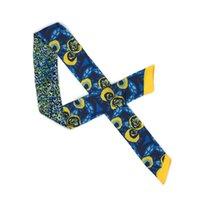 ingrosso teste di bowtie-ELENIANNIE 34 pollici raso sciarpa lunga testa collo fascetta per capelli lascia prin, collo cravatta, bowtie, sciarpa firmata, borsa scarna scarna