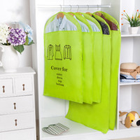 Wholesale clothe hangers for sale - Group buy Dust proof jacket of three sizes suit Oxford clothing dust proof cover clothing collection equation bag T3I5284