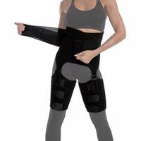 3 in 1 Fitness BuLift Body Shaper Thigh Waist Trainer Belt Tummy Control Slimming Corset Cincher Wrap Adjustable Shapewear