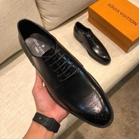 Wholesale soft leisure shoes for sale - Group buy Men Casual Shoes New Spring British Leisure Soft Skin Youth Head color the size wan2