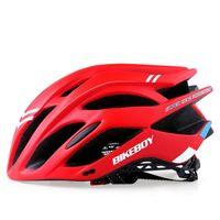 capacetes bicicletas de estrada bicicletas venda por atacado-Capacete de Ciclismo de Titânio Ultraleve Mountain Road Capacete Da Bicicleta Das Mulheres Dos Homens Integralmente Moldado MTB Viseira Respirável Segurança Ao Ar Livre Capacete Da Bicicleta