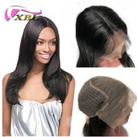 Wholesale malaysian deep wave human lace front for sale - Group buy 150 density human hair wigs xblhair by6 deep line straight and body wave front lace wig