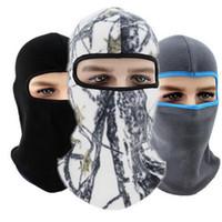 venta de máscara de moto al por mayor-Venta caliente Unisex protector solar al aire libre hombres mujeres pesca con mascarilla máscara facial completa a prueba de viento máscara de esquí invierno cuello calentador motocicleta cara