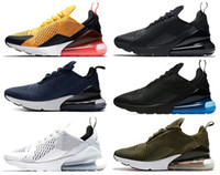 foto de la carretera al por mayor-Nike air max 270 shoes 27 Cushion Sneaker Designer Zapatos casuales 27c Trainer Off Road Star Iron Sprite Tomate Hombre General Parra Punch Foto 27s Hombres Mujeres 36-45