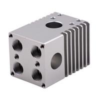 extrusora ultimaker venda por atacado-Chegam novas Liga de Alumínio Cross Slide Block 4 Bicos Extrusora para Ultimaker 2 Acessórios Da Impressora 3D