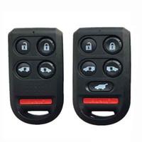 ingrosso gusci a distanza del pulsante honda-4/5 Pulsanti + Custodia Fob Remote Shell chiave auto sostituzione Fob per Honda Odyssey