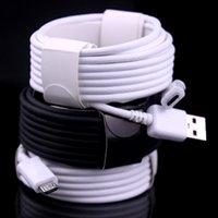 ladekabel 2m großhandel-1M 2M 3M Typ c Micro V8 5pin mit geflochtenem USB-Datenladekabel für Samsung S8 S9 S10 Htc LG