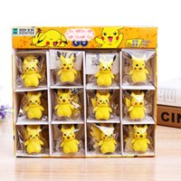 Wholesale mini erasers for kids for sale - Group buy Pocket Monsters Pikachu Eraser Action Figures Elf Toy styles CM New Pikachu Accessories Pikachu doll gifts for kids Girl Gift