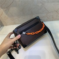 Wholesale hand bags for cell phones resale online - Female Mini Soft Trunk Genuine Leather Clutch Bags Hign End Version Handbag for Women Female M44480 Trunk Hand Bag