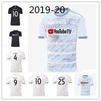 joueur achat en gros de-Version de joueur maillot de football LALS 2019 LAFC Extérieur Maillot de foot FC ZELAYA ROSSI VELA ZIMMERMAN Plus 10pcs Livraison DHL gratuite