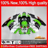 Wholesale zx ninja resale online - Body For KAWASAKI ZX R EX factory green EX250R HC EX250 ZX R EX ZX250R Fairings