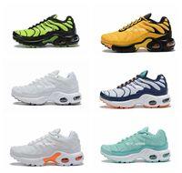 kızlar için koşu ayakkabıları toptan satış-2019 Yeni nike air max tn  Artı Çocuk Koşu Ayakkabıları Nefes Kız Erkek Gençlik Tasarımcı Spor Sneakers Eur Boyutu 28-35