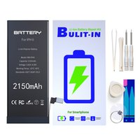 Wholesale tools for batteries online - 100 cycle Li ion Battery For iphone C S S and g g repair tools and battery adhesive