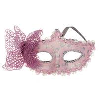 ingrosso belle maschere metà per le donne-Moda 2018 Sexy Butterfly Ball Mask Maschera per ragazze Donne Masquerade Dance Party Bella mezza maschera Vendita calda