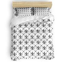Wholesale design bedding resale online - Classic iris pattern Duvet Cover Set Vintage Floral Art Design Collection of Bedding Set Bed Sheet Pillowcases Cover