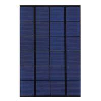 células de painel solar monocristalino venda por atacado-Célula do painel solar do ANIMAL DE ESTIMAÇÃO do silicone de SW4206 4.2W 6V Monocrystalline para o teste de DIY