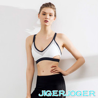 Wholesale beautiful white underwear resale online - New Side Hollowed High Strength Shockproof Gather Beautiful Back Yoga Fitness Sports Bra Underwear Sports Wear for Women Gym