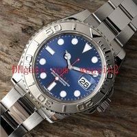 ingrosso calendario per orologio-1 orologio Luxury Colors 40mm Il quadrante blu visualizza la finestra del calendario 2813 Automatic Mechanical Dive Quality Watch Bezel Luminous Band