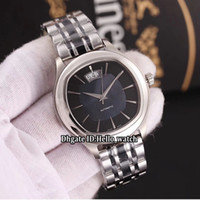 Wholesale big band mens watches resale online - 6 Color Cheap New Big Date Polo Black Dial ETA2824 Automatic Mens Watch Silver Case Two Tone Black Band Sapphire Sport Watches Hello_watch