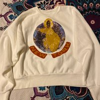 jesus hoodies venda por atacado-2019 novo Kanye West Jesus é rei domingo Serviço LA partido escutando Limited Edition Hoodie camisolas camisas navio livre