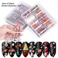 Wholesale nail art stickers halloween for sale - Group buy Nail Art Stickers Decals Set For Christmas Halloween Transfer Paper Nail art Decorations Tips Manicure Tools cm box