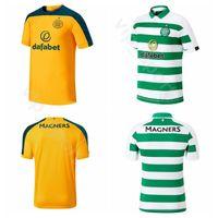 kits de football marron achat en gros de-19-20 FC Celtic 49 FORREST Jersey Hommes Soccer 42 MCGREGOR 8 BRUN 1 GORDON 6 BITTON 21 NTCHAM 22 EDOUARD Kits de maillots de football