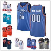 Wholesale chris paul jersey resale online - Custom Westbrook Danilo Gallinari Oklahoma Thunder Chris Paul Steven Adams Gilgeous Alexander Customized Basketball Jerseys