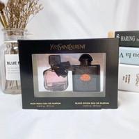 Wholesale pink car set resale online - Perfume Set in Perfumes Pink Mon Paris EAU DE Black Parfum ml for Girl Women Gift Sets