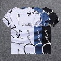 aaa t shirt toptan satış-Toptan 2020 yeni yaz tasarımcı erkek tişört logosu baskılı tişört erkek kısa kollu tişört kadın ceketi AA