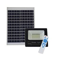 Wholesale solar panel 12v battery for sale - Outdoor Solar LED Flood Lights W W W Lamp Waterproof IP67 Lighting Floodlight Rechargable Battery Panel Power