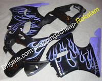 lila honda cbr großhandel-Beliebte Motorradverkleidung für Honda CBR900RR 893 94-95 CBR CBR893 893RR 1994-1995 CBR893RR Purple Flame Black Motorrad-Verkleidung