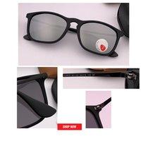 защищать диск оптовых-Top Brand Поляризованные Солнцезащитные Очки Мужчины Новая Мода Глаза Защищают Солнцезащитные Очки С Аксессуарами Мужские очки для вождения óculos de sol gafas 4187
