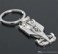 ingrosso portachiavi della macchina da corsa-Portachiavi 3D F1 Racing Car Keychain in lega di zinco portachiavi portachiavi portachiavi portachiavi auto portachiavi sport portachiavi portachiavi2018