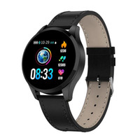 Wholesale android cell phone watch waterproof online – Q9 Smart Watch Waterproof Message call reminder Smartwatch men Heart Rate monitor Fashion Fitness Tracker for iPhone Android Cell Phone