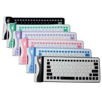 ingrosso silicone tastiera a colori-Tastiere portatili flessibili flessibili per computer portatile
