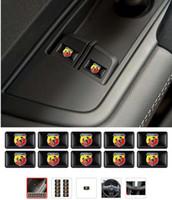 ingrosso ruote fiat-10 pz Volante 3D Epossidico Car Styling misura per fiat punto abarth 500 stilo ducato Scudo Bandiera Adesivo per auto Accessori auto