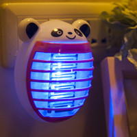 Wholesale electronic zapper for sale - Group buy Cute Mini Electronic Mosquito Killer Lamp Fly Bug Insect Trap Killer Zapper US EU Plug Anti Mosquito Repellent Home Accessory