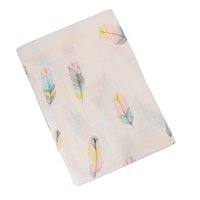 Wholesale printing cotton muslin for sale - Group buy Baby Swaddle Blanket Cotton Newborn Baby Bedding Accessories Baby Sleeping Swaddle Muslin Wrap Kids Play Mat