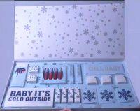 cadeaux de vacances achat en gros de-Collection de maquillage Hot Brand 21ème anniversaire / 2018 La collection de vacances Rouge à lèvres mat Kit de maquillage pour les lèvres Fard à paupières Cadeau de Noël Livraison DHL