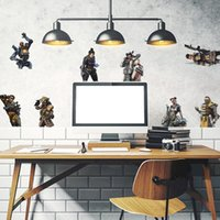 Wholesale home decor for sale - APEX Legends Wall Decals PVC DIY Wall Sticker Murals Play Room home Decoration Gamer Wall Decor cartoon Stickers FFA1693