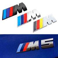 5.6*2.1cm Car Sticker    M Power M Emblem Badge Decals 3D Stickers For BMW e36 e39 e46 e60 e87 e30 f10 f20