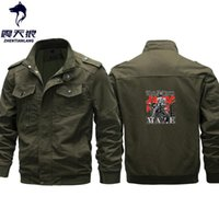 Wholesale racing jackets resale online - Plus Size Motorcycle racing Jacket Men Brand High Quality Cotton Autumn Winter Outwear Army Coats Male jaqueta masculin