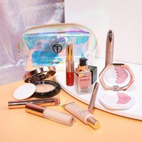 Wholesale travel kit cosmetic bag resale online - 10PCS Makeup Set Fashionable And Colorful Cosmetics Travel Kit For Women Christmas Present With Makeup Bag