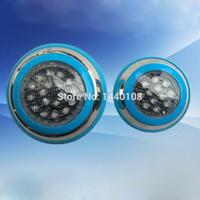 remote ac multi venda por atacado-2 pcs 18 w LED Piscinas Luz Multi-Color 12 V RGB Controlador Remoto de Iluminação Ao Ar Livre À Prova D 'Água Luzes Subaquáticas Para lâmpada